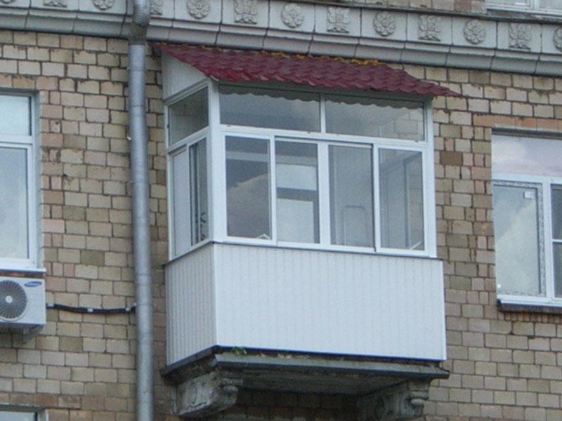 Остекление балконов в долгопрудном