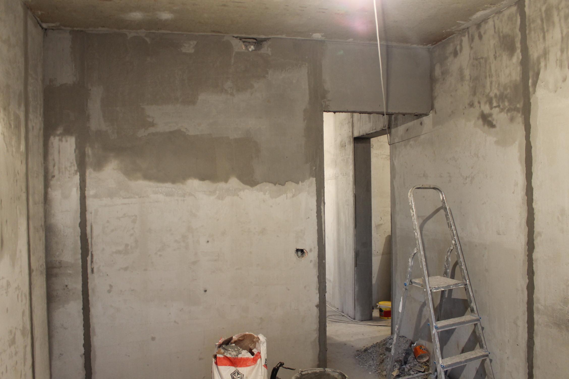 Черновой ремонт в новостройке своими руками 90